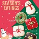 クリスピークリームドーナツクリスマス2016 メニュー・カロリーまとめ!